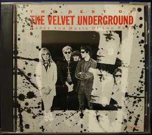 送料無料 The Velvet Underground:The Best Of The Velvet Underground(Words And Music Of Lou Reed)/1990国内盤/Verve:P25P-20311