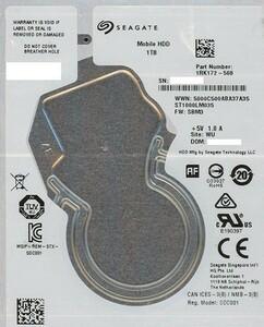 SEAGATE ノート用HDD 2.5inch ST1000LM035 1TB 7mm