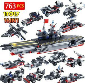 レゴ互換品 戦艦 戦闘機 組み換えセット 新品未使用品