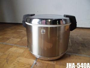 中古厨房 タイガー 業務用 電子 保温ジャー JHA-540A 3升 5.4L 100V 保温専用 大容量タイプ W430×D360×H310mm 2018年製