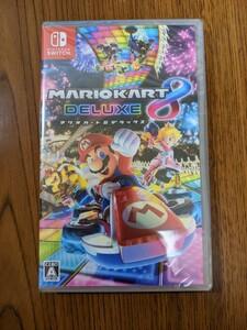 新品未開封 Nintendo Switch ソフト マリオカート8デラックス