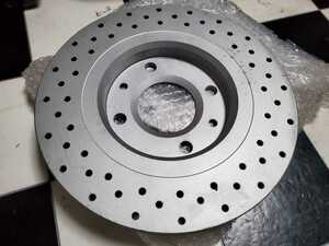 DIXCEL* brake disk drilled rotor *2112387* Peugeot 206 306 Citroen Xantia other * front 2 sheets