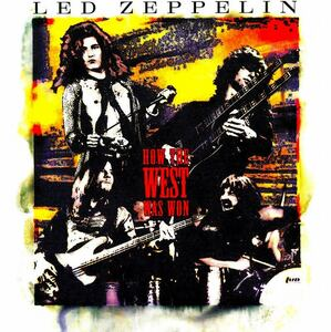 ◆◆LED ZEPPELIN◆HOW THE WEST WAS WON レッド・ツェッペリン 伝説のライヴ 3枚組 即決 送料込◆◆
