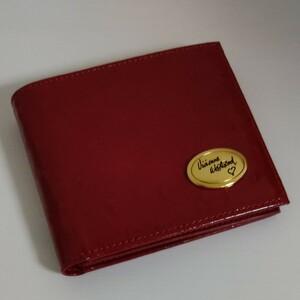 ヴィヴィアンウエストウッド 二つ折り財布 レッド