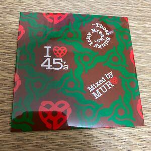 【廃盤】I LOVE 45'S -Those Stinky Icky Breaks-【DJ MURO】【MIX CD】【送料無料】