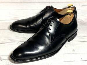 【即決】 KENFORD 24cm ケンフォード プレーントゥ レザー ブラック メンズ ドレス ビジネス 革靴 靴 シューズ ブラック 黒