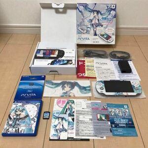 初音ミクProject DIVA F PS Vita 初音ミク PlayStation Vita Wi-Fiモデル Wi-Fi