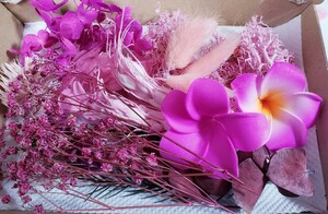お花詰め合わせ ピンク系