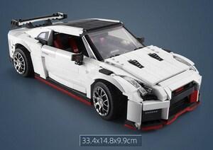 スーパーカー GTR レゴ 互換 テクニック ミニフィグ LEGO 互換 ミニフィギュア ブロック 1322pcs 0227336