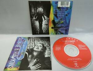 ■Sophie B. Hawkins / Tongues And Tails ◇ Damn I Wish I Was Your Lover, etc. ソフィー・B・ホーキンス ☆プラケースなし【中古CD】