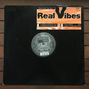 ●【eu-rap】Real Vibes / Believe In Me[12inch]オリジナル盤《4-2-69》