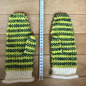 ハンドメイド 手編み ハンドウォーマー 手袋 手作り
