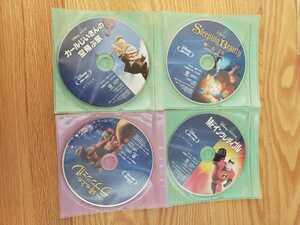 早い者勝ち ディズニー BluRay 4点セット 国内正規品 未再生 ミスターインクレディブル など