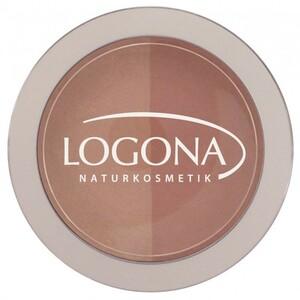 【新品】 ロゴナ/LOGONA チークカラー・デュオ 03 ベージュ&テラコッタ Blush 01 beige + terracotta 10g