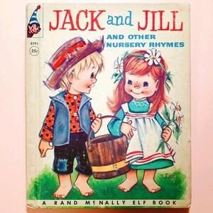洋書 絵本 Jack and Jill 古本