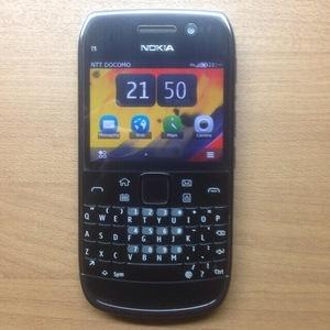 【新品同様】希少 Nokia ノキア E6 sim シム free フリー 日本語入力・表示 可能