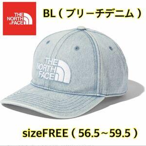 【新品】 THE NORTH FACE ノースフェイス キャップ 帽子 ブリーチデニム nn02135