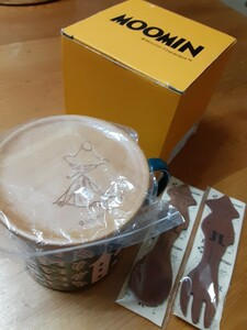 木製コースター付マグ&木製スプーン フォーク スナフキン