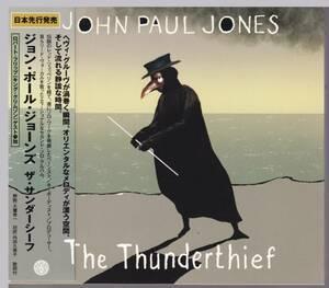 CD 帯付き 【レッド・ツェッペリン関連】 「ザ・サンダーシーフ」ジョン・ポール・ジョーンズ(「The Thunderthief」) JOHN PAUL JONES
