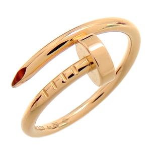 [銀座店]CARTIER カルティエ 750PG #49 ジュスト アンクル SM リング・指輪 750ピンクゴールド 9号 レディース DH61434