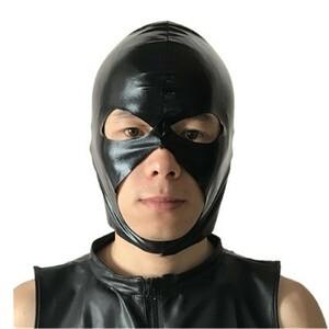 1円!ブラックヘッド コスプレ 衣装 ハロウィン パーティーグッズ かぶりもの ハロウィン 衣装 プチ仮装 マスク SM E-0080