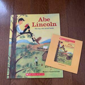 英語絵本 洋書 エイブラハム・リンカーン*CD付き