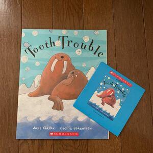 英語絵本 洋書 Tooth Trouble CD付き