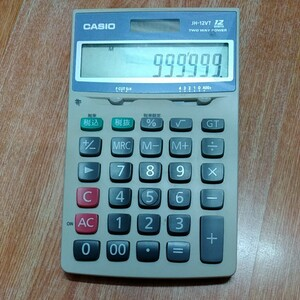 CASIO カシオ電卓 計算機 中古品