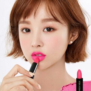 新品velyvely/matte lipstickブリーブリーイムブリーマットリップスティックティント口紅imvely