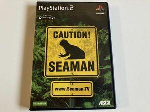 PS2「ガゼー博士の実験島 シーマン~禁断のペット」プレステ2 プレイステーション2