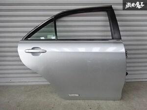 トヨタ純正 ACV40 ACV45 カムリ リミテッドエディション リア ドア 右側 RH シルバー系 ガラス トリム バイザー 即納 棚2F-A