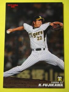 【カルビープロ野球チップス】2010年Calbeeプロ野球カード 028 藤川球児投手(阪神タイガース)