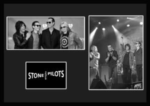 10種類!Stone Temple Pilots/ストーン・テンプル・パイロッツ/ROCK/ロックバンド/証明書付きフレーム/BW/モノクロ/ディスプレイ(9-3W)