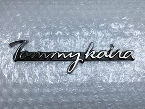 新品☆ 当時物 Tommykaira トミーカイラ メタル エンブレム 日産 スカイライン R30 R31 R32 R33 R34 GTR RB26 S13 インプレッサ GC8 エアロ