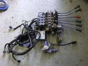 r3125-11-2 * tadano crane radio-controller electromagnetic valve(bulb) oil pressure valve(bulb) wiring accelerator cylinder ZR304