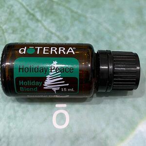 doTERRA ドテラ ホリデーピース 15ml エッセンシャルオイル