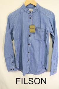 【レディース】【良品保証返品OK】FILSONデニムシャツ/新品未使用品老舗高品質XS