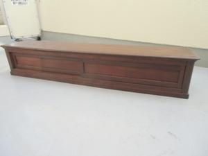 無垢 けやき 欅 置き床  ローボード  引き戸収納