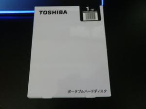 新品・未開封・送料無料 TOSHIBA HDAD05AK3-FP ブラック 外付 USB ポータブルハードディスク 1TB