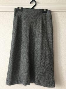 ロングスカート 冬服 タイトスカート ロートレアモン