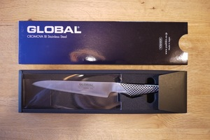 新品 GLOBAL グローバル オールステンレス フレキシブルナイフ GS-11 一体型 包丁 調理師 キッチン ナイフ プロも使用