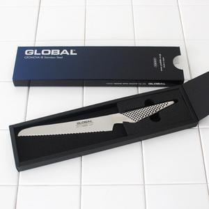 新品 吉田金属 GLOBAL グローバル オールステンレス ブレッドナイフ GS-61 小さめパン切りナイフ ベーグル サンドイッチ
