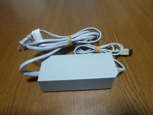 AV005【送料無料 即日配送 動作確認済】Wii ACアダプター 純正品 RVL-002
