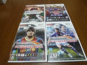 O11【即日配送 送料無料 動作確認済】Wiiソフト ウイニングイレブン プレーメーカー 2008 2010 2011 2012