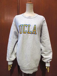 ビンテージ80's●Champion UCLAリバースウィーブスウェットsize XL●210227s5-m-swsチャンピオントレーナーUSA製カリフォルニア大学古着