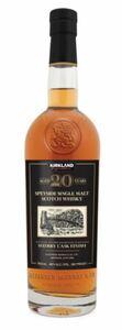 カークランド スペイサイド シングルモルト スコッチ ウイスキー 750ml
