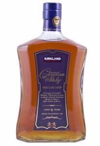 カークランド シグネチャー カナディアン ウイスキー 1750 ml