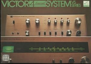Victor MCA-V5/MCT-V5のカタログ ビクター 管4597