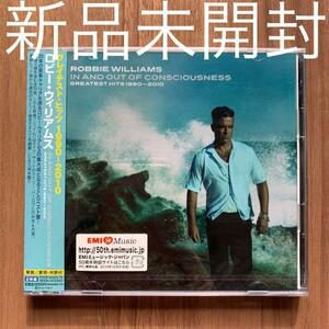 Robbie Williams ロビー・ウィリアムス In And Out Of Consciousness Greatest Hits グレイテスト・ヒッツ 1990-2010 2CD 新品未開封