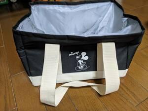 ☆ミッキーマウス 保冷バッグ エコバッグ トートバッグ キャンプ お買い物 ディズニー 美品 送料無料 追跡あり